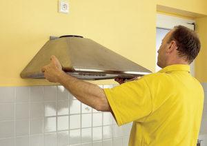 Как правильно установить вытяжку на кухне