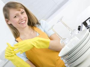 Мойка посуды на дому в Москве
