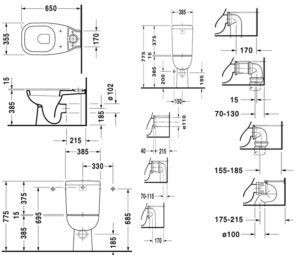 Как установить гофру для подключения унитаза к канализации?