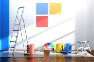 Правильно выбираем краску для стен в квартире