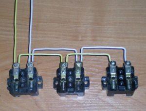 Подключение нескольких розеток от одного провода