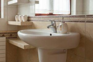 Установка раковины в ванной своими руками