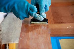 Очистка поверхностей от лакокрасочных материалов
