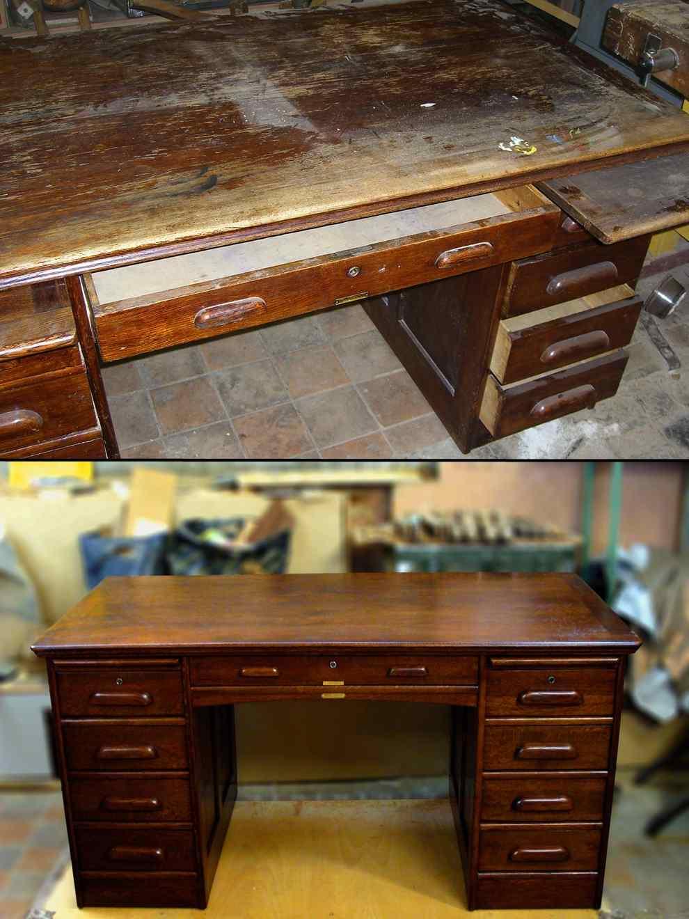 Как реставрировать стол из дсп своими руками