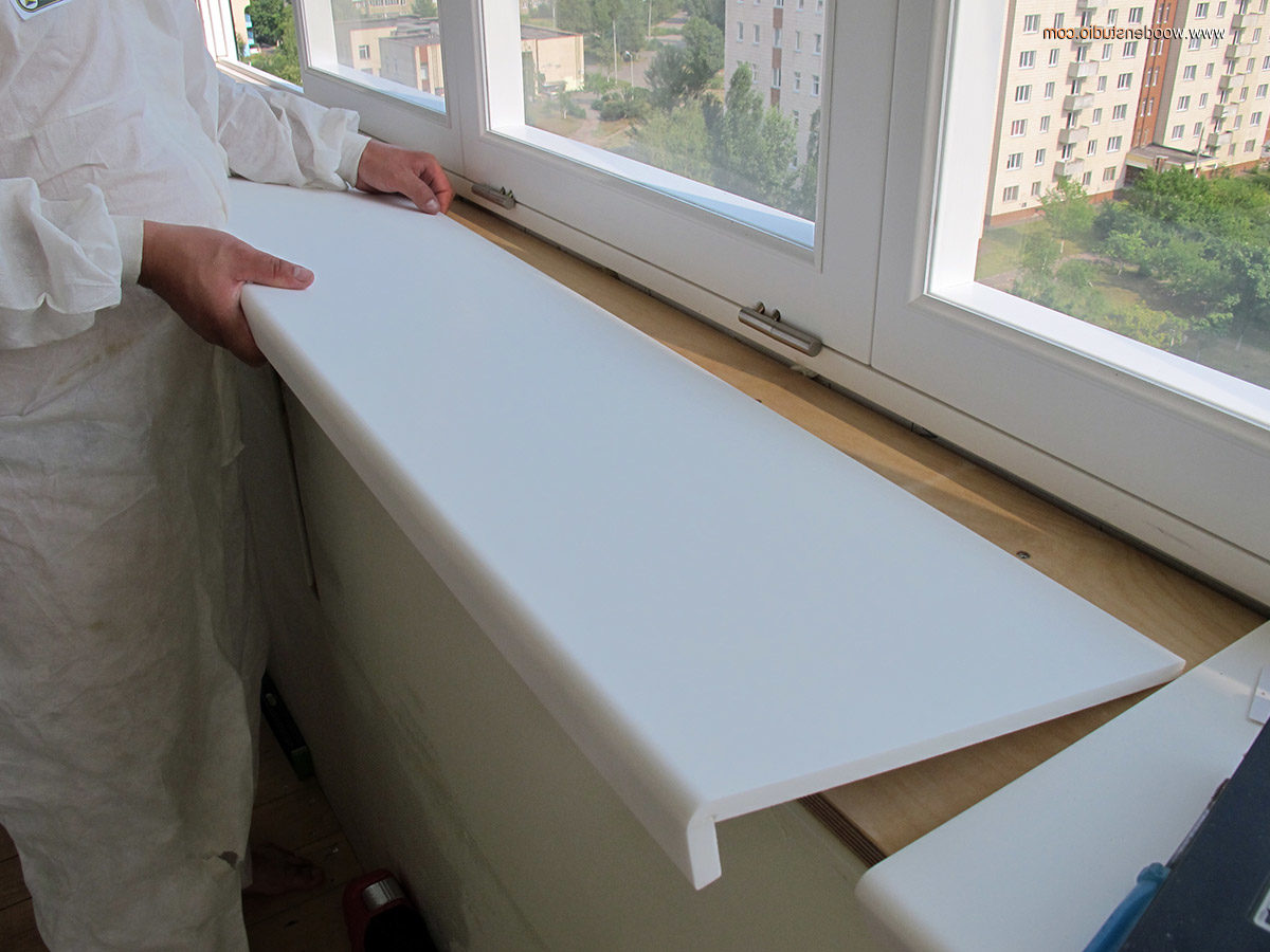Как установить подоконник для пластикового окна 6